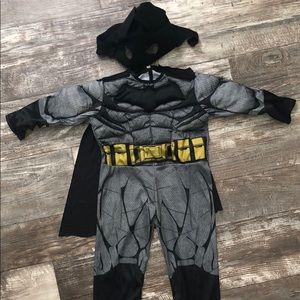 EUC Batman Toddler Halloween Costume -2T/3T